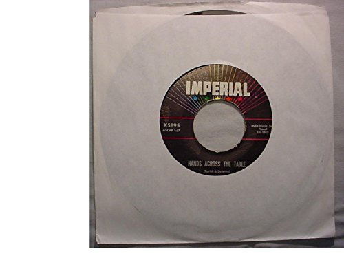 Fats Domino Very Nice Original 7 Inch 45 rpm - Hands Across The Table / Won