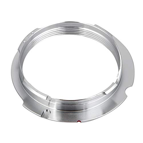 Dilwe Universal Adapter Ring, Rotation Buckle Type Lens Adapters and Converters Installation, Replacement Automatic Adapter Ring for LM-EA7, M8/M9/M9P/M (M240)(28-90)
