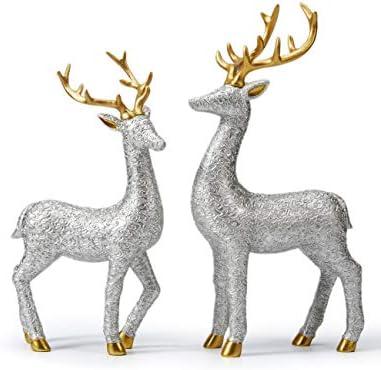 Home interior deer figurines