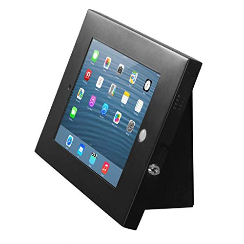 Black iPad Enclosure with Wall Mount