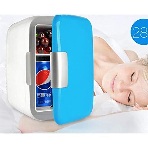 Mini tragbaren kompakten Kühlschrank, kühlt und heizt, 4 Liter Kapazität Auto Gefrierschrank nach Hause Dual Use Auto Kühlschrank 12V tragbaren Reise-Kühlschrank