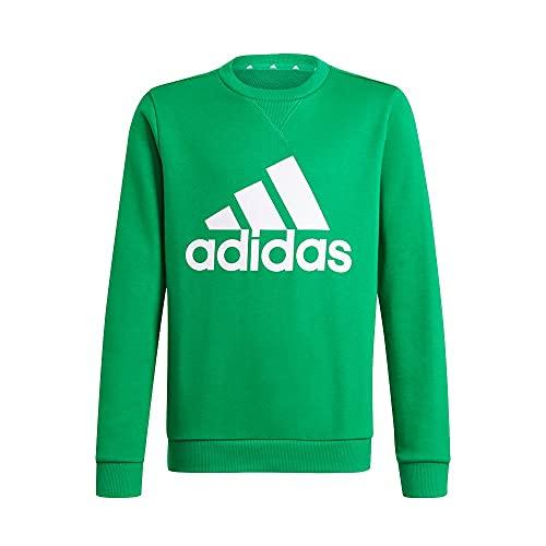 adidas B Bl Swt, Suéter pulóver Niños, Green/White, 13 Anni