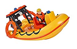Emergency vehicle - The Neptune boat is one of the emergency vehicles of Fireman Sam and his colleagues from Pontypandy and in use in the rescue on the water SECRET COMPARTMENT - Under deck there is a secret compartment for fire fighters' combat equi...