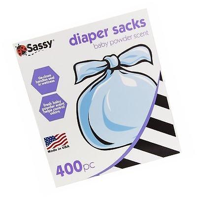 Sassy Disposable Scented Diaper Sacks 400 ct