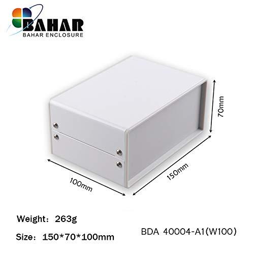 Bahar Enclosure 150*70*100 mm Metallgehäuse Eisengehäuse Iron Enclosure Eisen Box Instrument Gehäuse Industriegehäuse BDA 40004-A1 (W100)