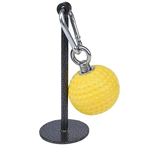 ANGOU Sport Exercise Arm Training Muscle Grip Force Ball Training Pull Up Power Ball Hold Grips Training Tool Grip Strength Conditioni-Yellow
