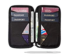 Travel Wallet & Family Passport Holder w/ RFID Blocking Can You Fly If Your Driver's License or ID Card Was Lost or Stolen