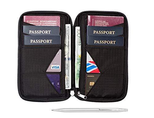 Porta documento para viajes Zero Grid Family