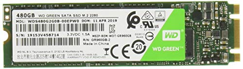Western Digital WD Green Interna SSD M.2 SATA, Verde, 480 GB