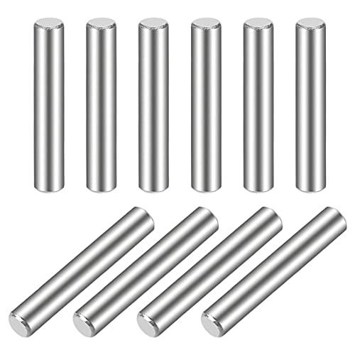 4 x 30 mm (aproximadamente 5/32 pulgadas) de acero inoxidable 304 literas de madera con tacos y estantes, 10 piezas