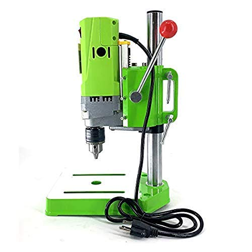 ECUTEE 710W 110V Bench Drill Stand, Electric Bench Drill Press Stand Mini Metal Drilling Machine Home1-13mm for DIY Iron Wood