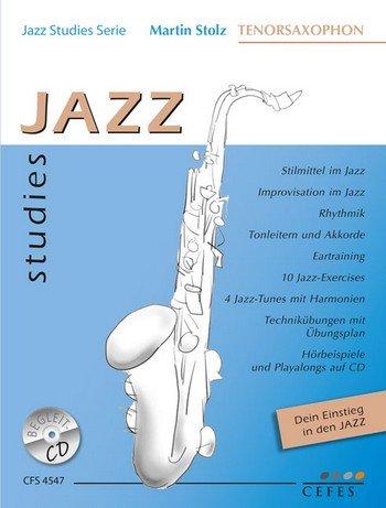 Jazz Studies (+CD): voor Tenorsaxofoon