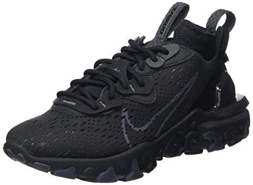 Nike Herren React Vision Laufschuh, Black Anthracite Black Anthracite, 43 EU