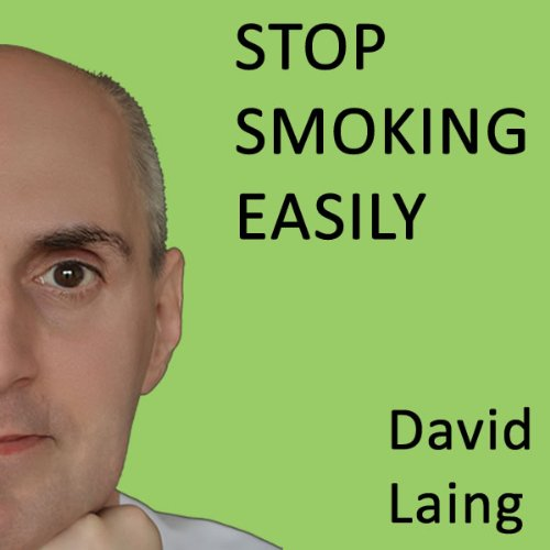 Stop Smoking Easily with David Laing audiobook cover art
