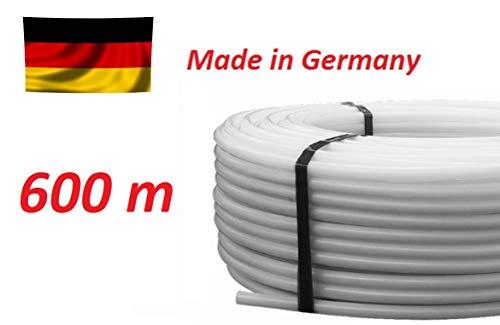 600m Rohr PE-RT 17 x 2 mm Fußbodenheizung Heizrohr Flächenheizung
