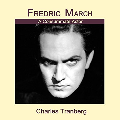 Fredric March audiobook cover art