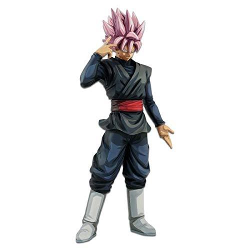 Banpresto. Dragon Ball Super Figure Goku Black SSR Super Sayan Rosè Grandista Resolution of Soldiers Manga Dimensions Overseas Limited Ahora Disponible!