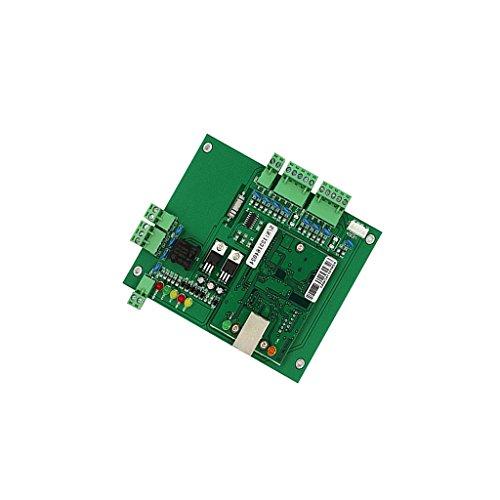 Wiegand TCP / IP Eine Tür Netzwerk Zugangskontrolle Board-Panel Controller Kartonplatte mit Software Grün