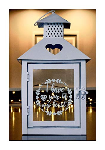 Unique Sympathy Candle Holder Vintage Lantern Gift with Message for Funeral Or Memorial Comfort The Grieving for Loss of A Loved One and Send Condolences