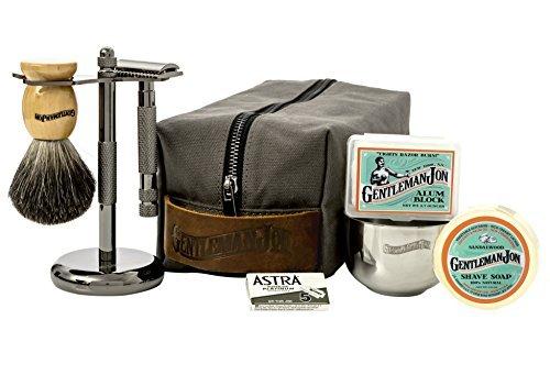 Monogrammed Shaving Kit