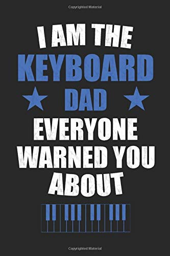 The Keyboard Dad: Dot Grid Journal or Notebook (6x9 inches) with 120 Pages