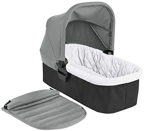 Baby Jogger Faltbare Babywanne für Die Einzelkinderwagen City Mini 2 & City Mini GT2, 0-6Monate (9kg), Slate (grau)