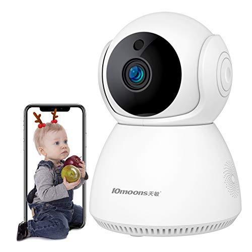 2021最新500万ピクセル-1920P10moons 1920P-5 百万ピクセルリモートモニタリング屋内オールラウンドスマートセキュリティカメラワイヤレス監視カメラHDIRナイトビジョンWifiモニターペット ベビーカメラ ホームセキュリティ