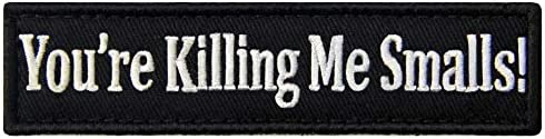 You're Sale Free Shipping Cheap Bargain Gift special price Killing Me Smalls Morale Tactical Patch Funny Embroidered