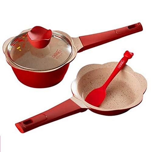 Pot Pan Set Professioneel voor Baby Baby, Niet Stick Aanvullende Voedselpot, Koekenpan, Melk Pot met Steamer 4/8 Stks