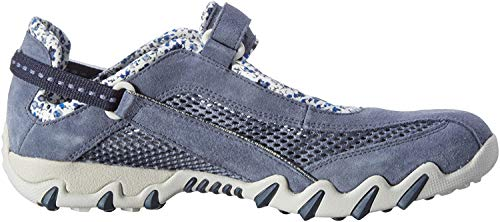 Allrounder by Mephisto Damen NIRO Outdoor Fitnessschuhe, Blau (Teal/Teal Coresuede 95/O.Mesh 95), 38 EU
