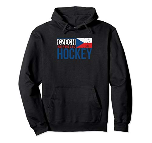 Czech Republic Czechia Hockey International Ice Supporter Pullover Hoodie