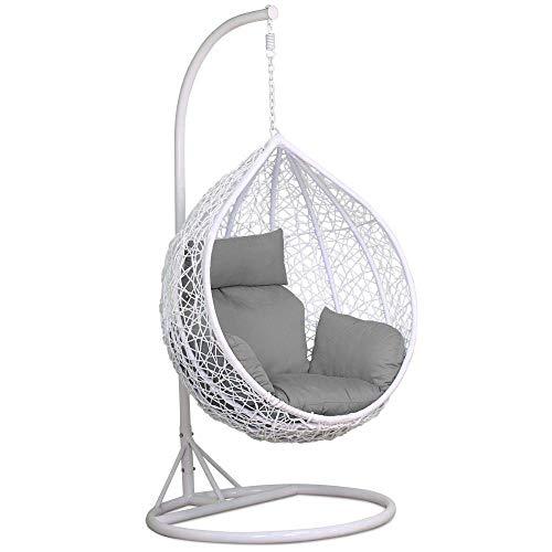 Hangstoel Egg Chair Wit.Swing Chair The Best Amazon Price In Savemoney Es