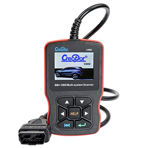Great Deal! Code Reader Automotive Engine Fault MIL Turn Off Scanner, Full OBD2 Functions CAN Diagno...