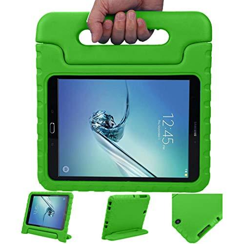 iMoshion kompatibel mit Samsung Galaxy Tab S2 9.7 Hülle – Tablethülle für Kinder – Tablet Kids Hülle in Mehrfarbig mit Griff & Ständer [Robust, Handgriffig, Stoßfest]