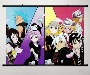 Soul Eater Home Decor Anime Wall Scroll Poster 23.6 X 17.7 Inches-047S