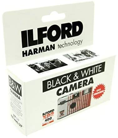 Ilford XP2 Super Single Use Camera 27 Soldering Bla with Exposures Same day shipping Flash