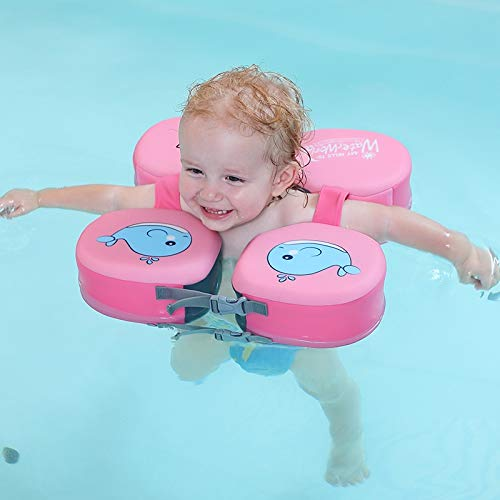 SGLMYD Baby Float Hals schwimmring,halsring Baby Schwimmen,Infant Pool Floats Kinder Schwimmhilfe Baby solid weich Swimming Float (Color : 1)
