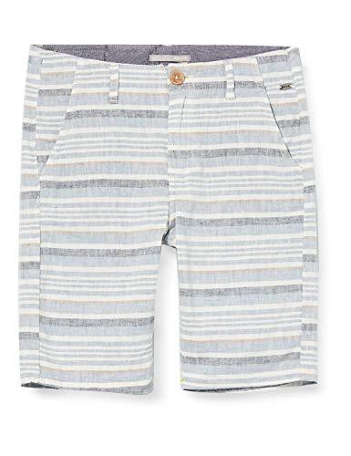 Mexx Jungen 951028 Shorts, Mehrfarbig (Striped 318247), (Herstellergröße: 158)