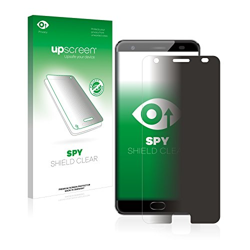 upscreen Anti-Spy Blickschutzfolie kompatibel mit Oukitel K6000 Plus Privacy Screen Sichtschutz Bildschirmschutz-Folie