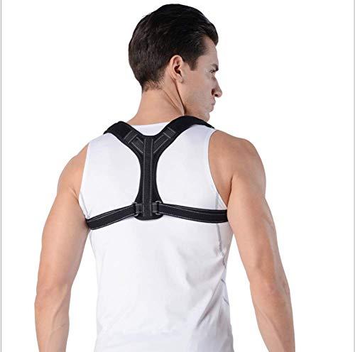 Lage-Korrektor Physiotherapie Haltung Brace für Männer oder Frauen Rücken Schulter Nackenschmerzen Relief Buckel-Rückenmark-Haltung Unterstützung,L