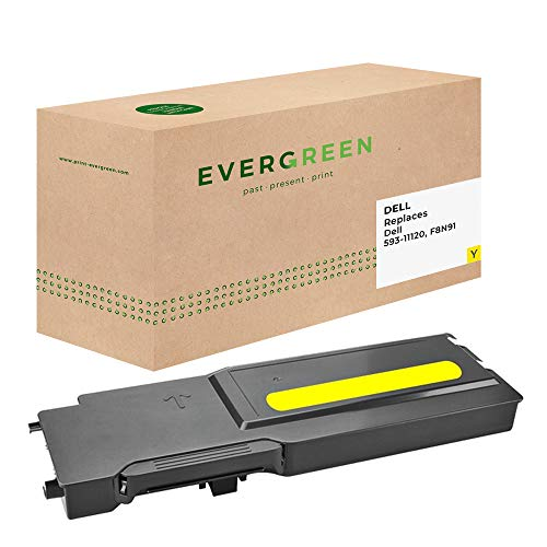 Evergreen 593-11120, F8N91Remanufactured Toner Cartridges Pack of 1