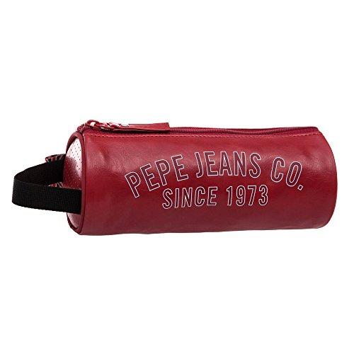 Pepe Jeans Trousse Vanity, 22 cm, 1,78 L, Rouge