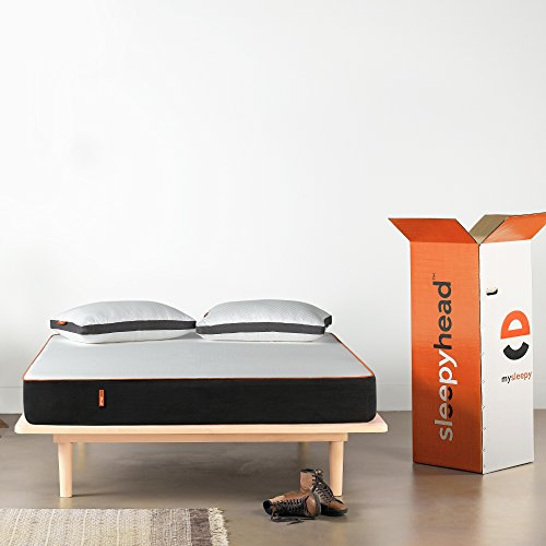 Sleepyhead Original - 3 Layered Orthopedic Memory Foam Mattress, 78x60x6 inches (Queen Size)