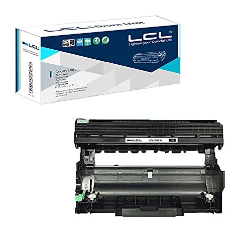 LCL Brother用 ブラザー用 DR-23J (1パック ブラック) 互換ドラムユニット 対応機種:HL-L2300D、HL-L2365DW、HL-L2340DW、HL-L2320D、HL-L2360DW、HL2380DW、HL-L2360DN、HL-L2300DR、HL-L2340DWR、HL-L2360DNR、HL-L2365DWR DCP-L2500D、DCP-L2520DW、DCP-L2540DN、DCP-L2520D、DCP-L2540DW、DCP-L2560DW、DCP-L2500DR、DCP-L2520DWR、DCP-L2540DNR、DCP-L2560DWR MFC-L2700D、MFC-L2700DW、MFC-L2703DW MFC-L2720DW、MFC-L2740DW 、MFC-L2740DWR、MFC-L2720DWR、MFC-L2700DWR、 HL-L2305W、MFC-L2680W、MFC-L2705DW、MFC-L2707DW、MFC-L2685DW、MFC-L2701D、MFC-L2701DW
