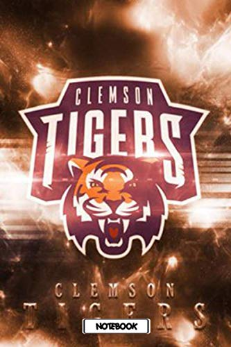 NCAA Notebook : Clemson Tigers School Timetable Notebook Gift Ideas for Sport Fan , Home or Work #17