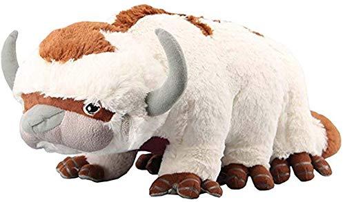 Honeytoy Avatar Last Airbender Appa Plüschtier Weiche Kuscheltiere Rinder- und Fledermauspuppe Kinderspielzeug (Appa)