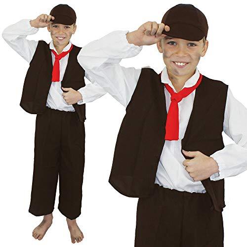 Générique I Love Fancy Dress ILFD7024S Déguisement de pauvre Victorien pour garçon Taille S