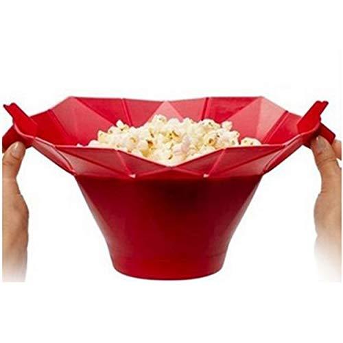 Tree-on-Life Silikon-Mikrowellen-Popcorn-Maschine Popcorn Popper Selbst gemachte Köstliches Popcorn Schüssel Backen-Werkzeuge Küche Bakingwares DIY Bucket