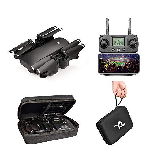 ACOC Faltbare Drohne Mit Kamera HD 1080P Helikopter Ferngesteuert Mit GPS Navigation Active Track Kopfloser Modus Gestensteuerung Quick Shot Live Video Ideal Für Kinder Und Anfänger