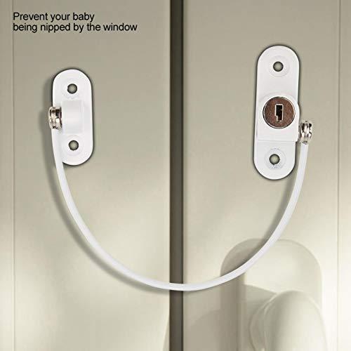 Cerradura de seguridad para ventana Caja fuerte para bebé con llave